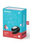 Stimulateur Double Joy noir - Satisfyer