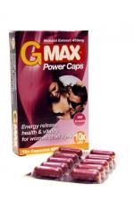 G-Max Power Caps Femme (10 gélules)