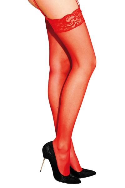 Bas classiques en voile rouge - Anne d'Ales