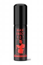 Maxi Erect 907 : Spray à action immédiate pour soutenir l'érection masculine pendant les rapports sexuels.