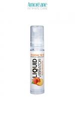 Lubrifiant Liquid Vibrator Pêche 10ml - Amoreane Med