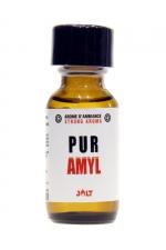 Poppers Pur Amyl Jolt 25ml : Pur Amyl de la marque Jolt est un arôme aphrodisiaque  extra fort et haute qualité à base de Nitrite d'Amyle (flacon de 25 ml).