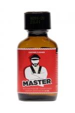 Poppers Master 24ml : Puissant arôme aphrodisiaque à base de propyle, idéal pour vous désinhiber et faire monter l'excitation pendant vos jeux SM.